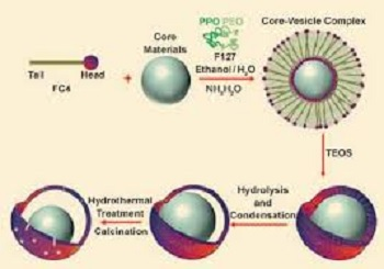 一种核壳结构金纳米粒子